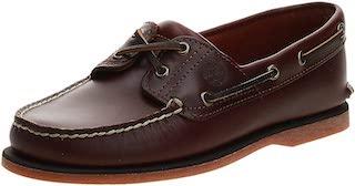 Timberland's Men's Classic 2-eye men's boat shoes