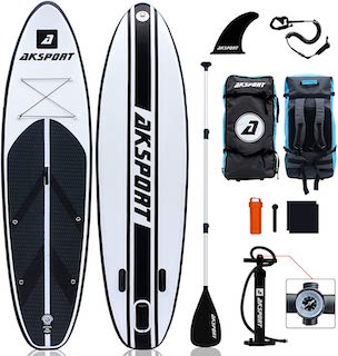 AKSPORT Inflatable Stand up Paddle Board