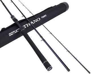 Goture 3pcs Bass Fishing Rod