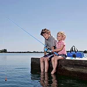 Lady Rosian Fishing Pole Set