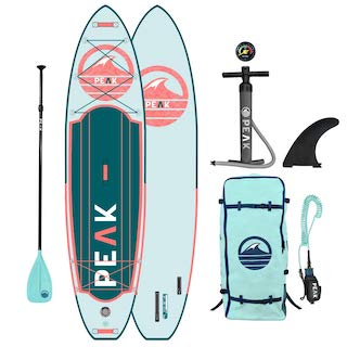 Peak Expedition Stand up Inflatable Paddle Board