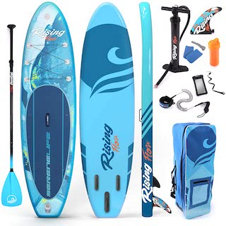 Serenelife Premium Inflatable Standup Paddle Board