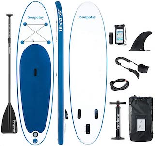 Sootapay Inflatable SUP Stand up Paddle Board